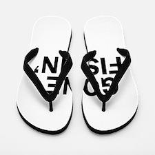 Cute Funny fishin Flip Flops