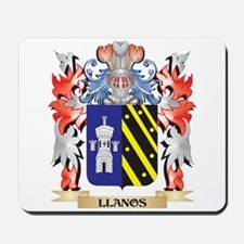 Llanos Coat of Arms - Family Crest Mousepad