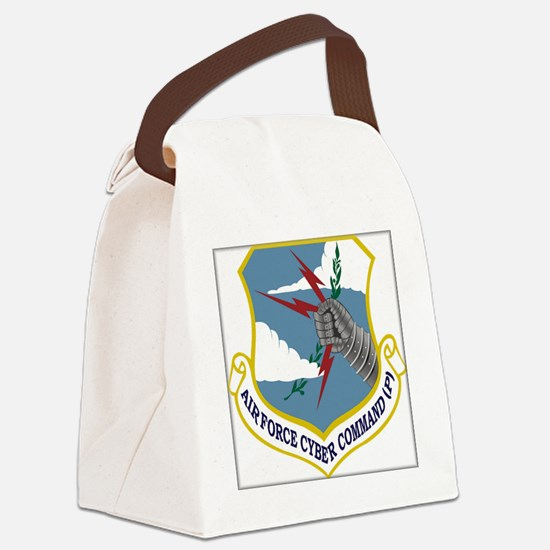 Cool Cyber Canvas Lunch Bag