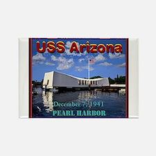 USS Arizona Magnets