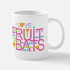 I Love Fruit Bats Mugs