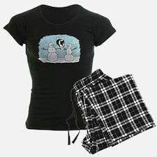 Border Collie Holiday Pajamas
