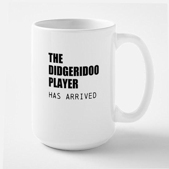 THE DIDGERIDOO PLAYER HAS ARRIVED Mugs