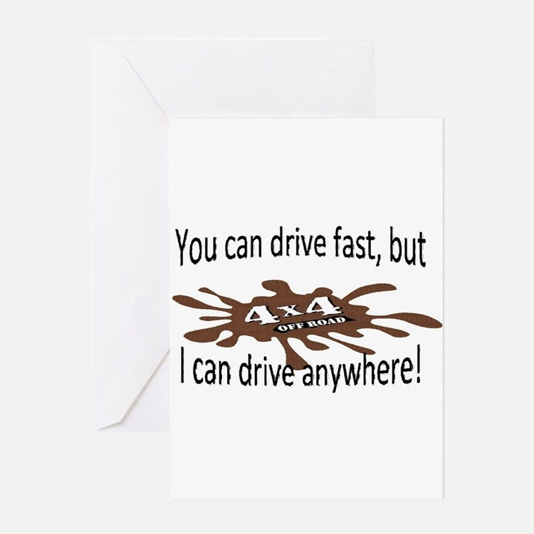 Off road Greeting Cards