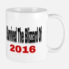 I Survived The Blizzard Of 2016 Mugs
