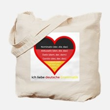 Cute Deutsch Tote Bag