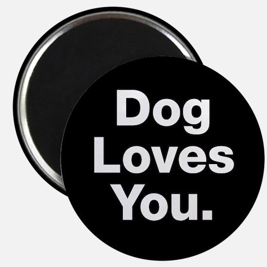 Dog Loves You Magnets