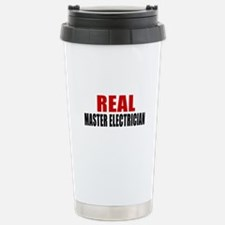 Real Master Electrician Stainless Steel Travel Mug
