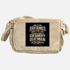 Grumpy old man Messenger Bag