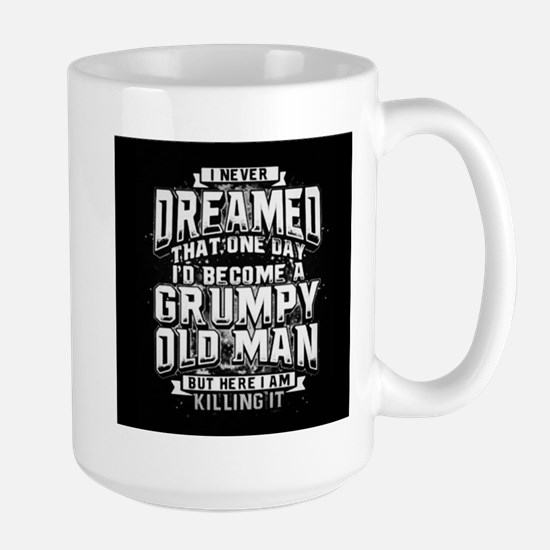 Grumpy old man Mugs