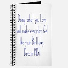Everyday Birthday Journal