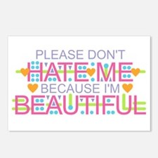 Don't Hate Me - Beautiful Postcards (Package of 8)