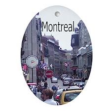 Montreal Keepsake (Oval)