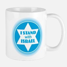 I Stand with Israel Mugs