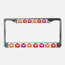 LOVE HOMES License Plate Frame