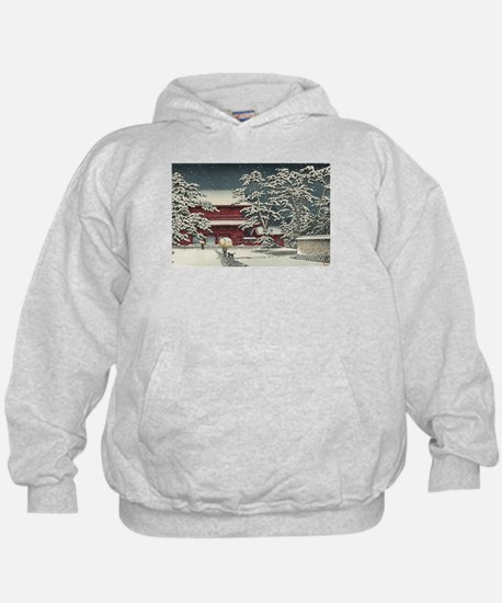 """Zojoji in Snow"" by Kawase Ha Sweatshirt"