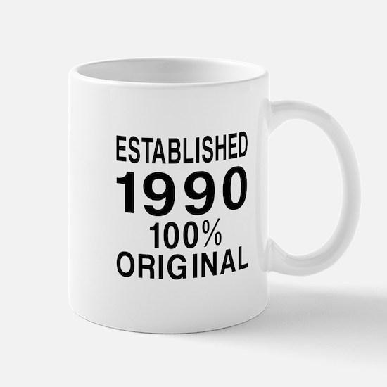Est.Since 1990 Mug