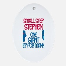 Stephen - Astronaut Oval Ornament