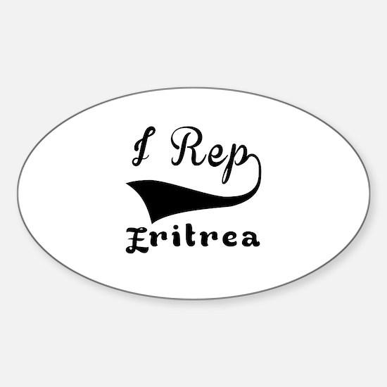 I Rep Eritrea Sticker (Oval)