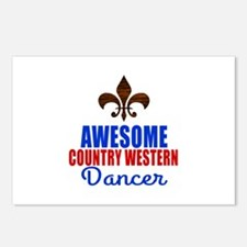 Awesome Country Western D Postcards (Package of 8)