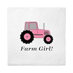 Farm Girl Tractor Queen Duvet