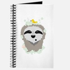 Sloth in bubbles Journal