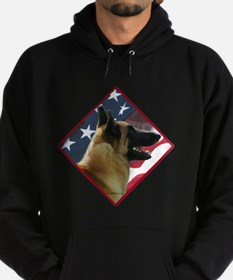 Malinois Flag 2 Sweatshirt