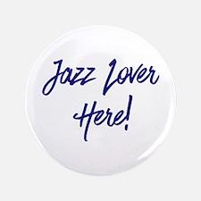 "Jazz Lover 3.5"" Button (100 pack)"