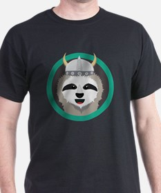 Funny Wild sloth in tree T-Shirt