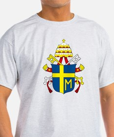 Pope John Paul II Coat of Arm T-Shirt