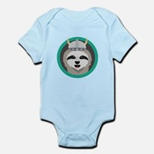 Cool Sloth with sunglasses Body Suit