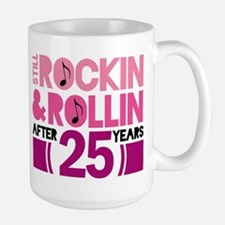 25th Anniversary Funny Gift Mugs