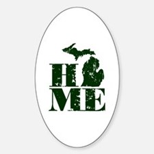 Ann arbor michigan Sticker (Oval)