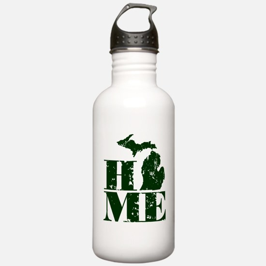 Unique Up north michigan Water Bottle