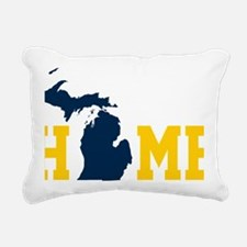 Cool Michigan Rectangular Canvas Pillow