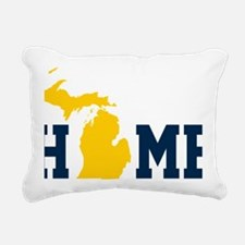 Michigan Rectangular Canvas Pillow