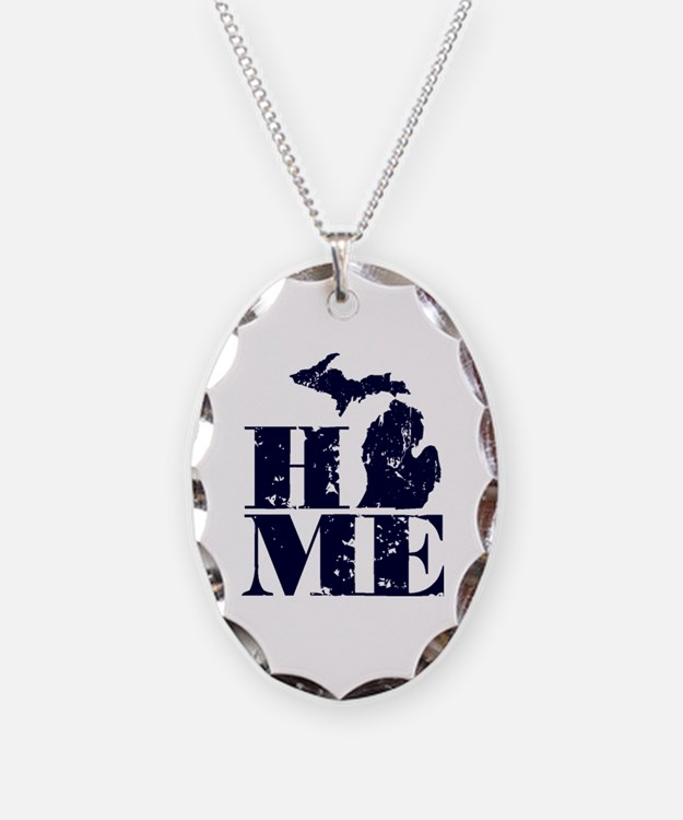 Cute Up north michigan Necklace