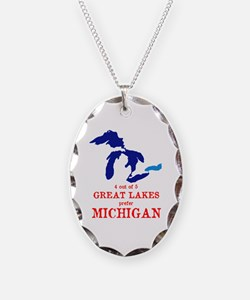 Funny Up north michigan Necklace