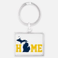 Funny Up north michigan Landscape Keychain