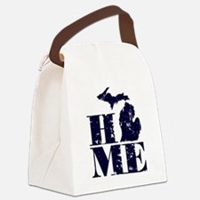 Funny Michigan Canvas Lunch Bag