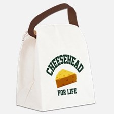 Cute Green bay wisconsin Canvas Lunch Bag