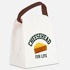 Unique Cheesehead Canvas Lunch Bag