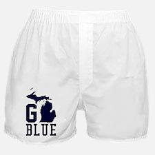 Funny Michigan football Boxer Shorts