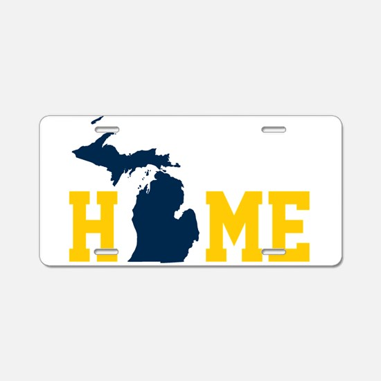 Cute Up north Aluminum License Plate