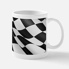Chequered Flag Mugs