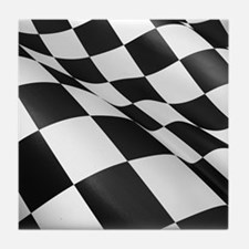 Chequered Flag Tile Coaster