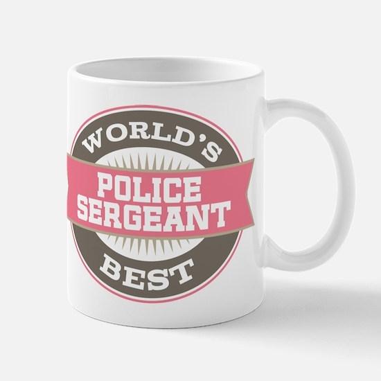 police sergeant Mug