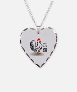 Cute Rooster Necklace