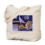 NORWICH TERRIER art Tote Bag