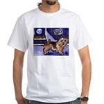NORWICH TERRIER art White T-Shirt